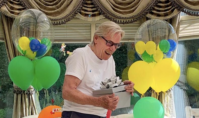 Coronation Street star Bill Roache celebrates 88th birthday with family in lockdown