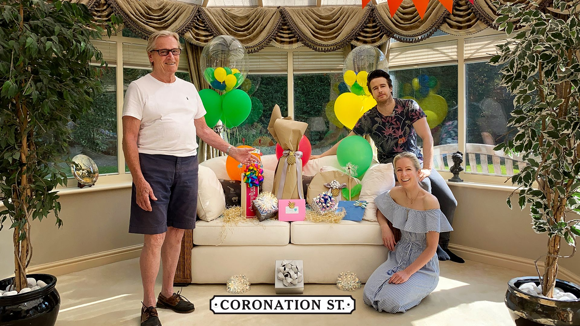 coronation street star bill roache birthday