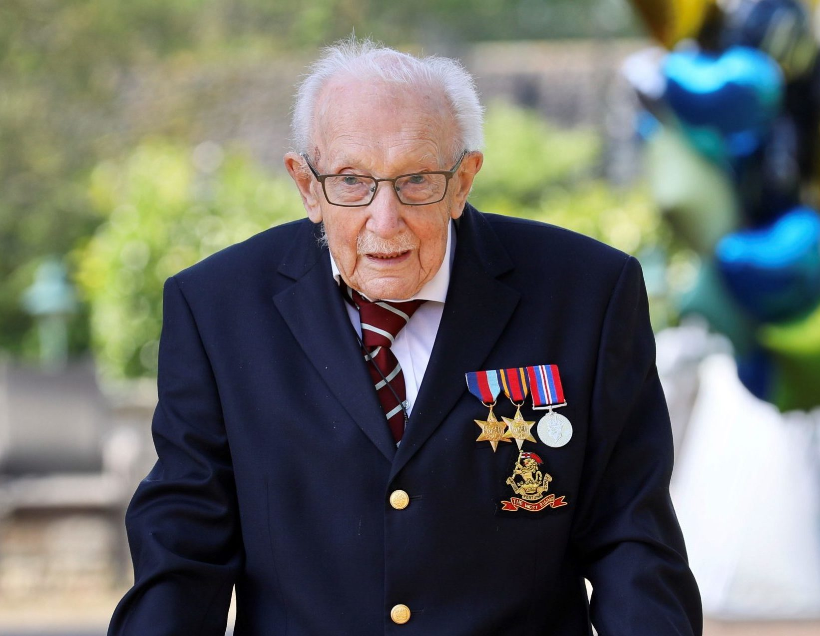 Captain Tom Moore 'to receive personalised telegram from the Queen' on 100th birthday