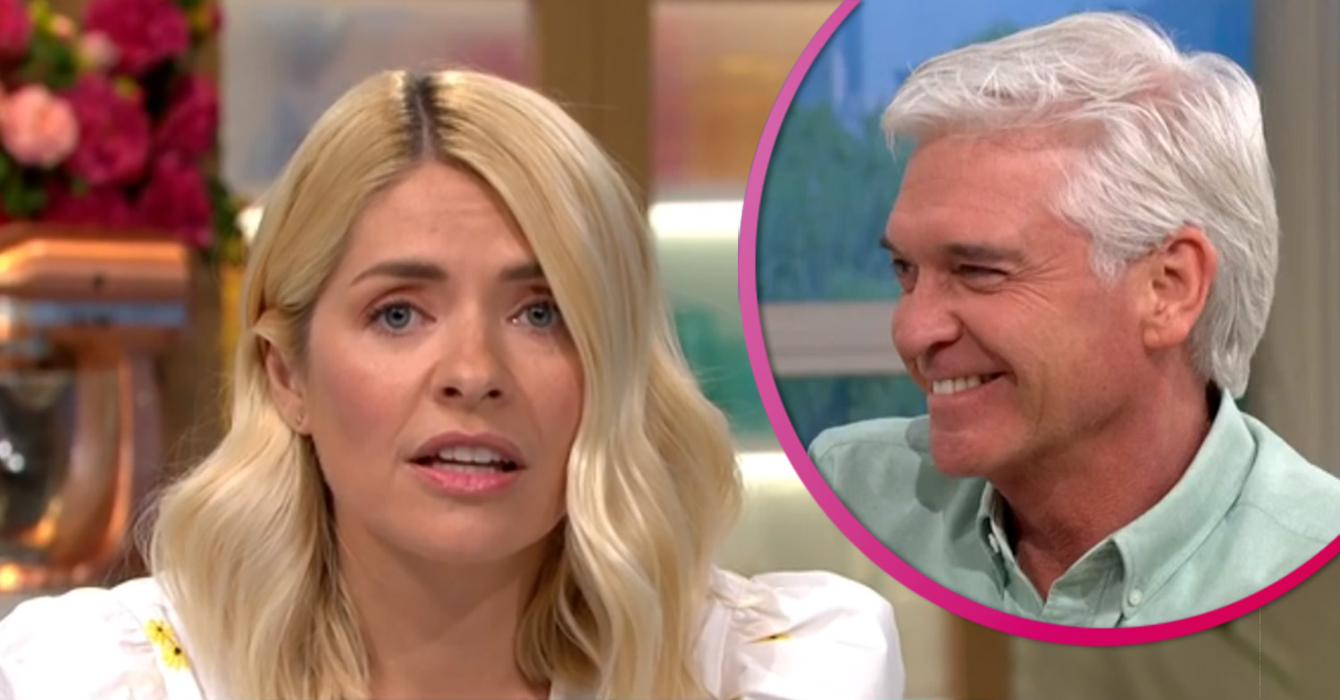Holly Willoughby shocked as Bradley Walsh pranks her on This Morning