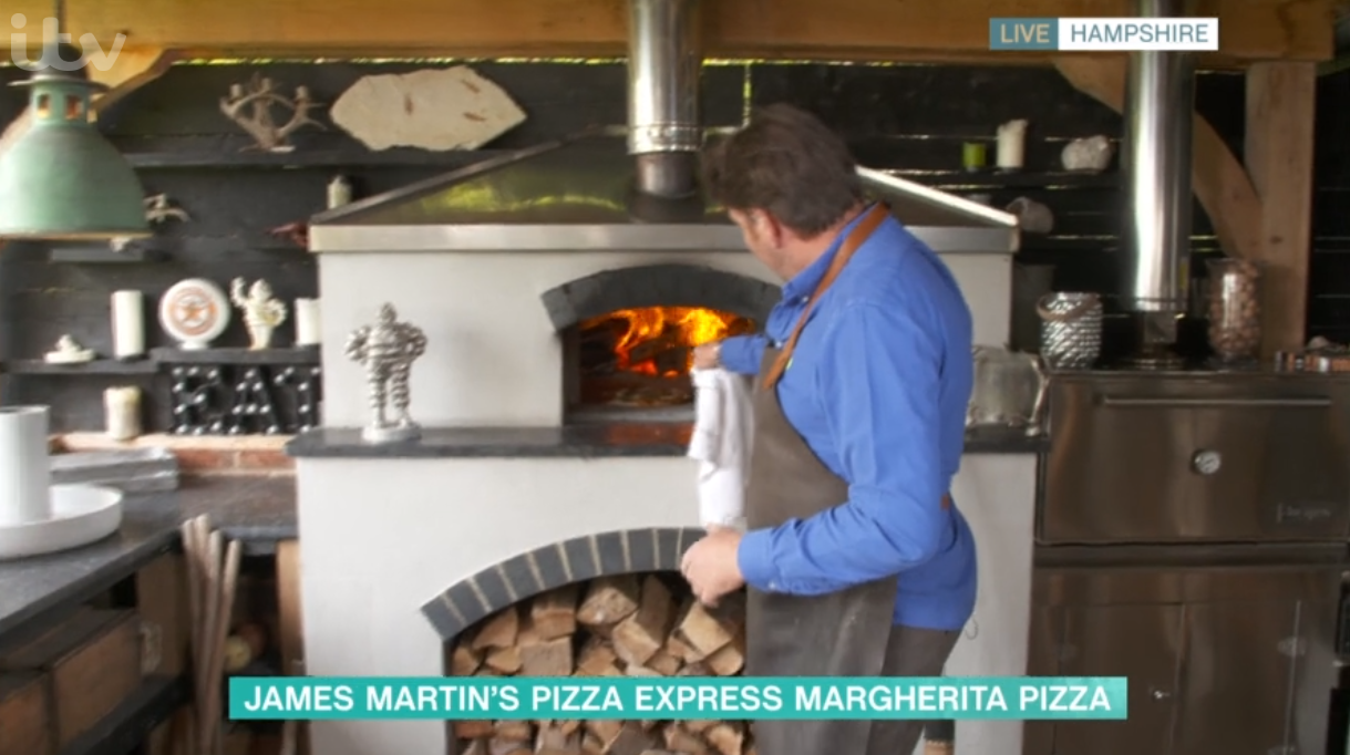 James Martin on This Morning