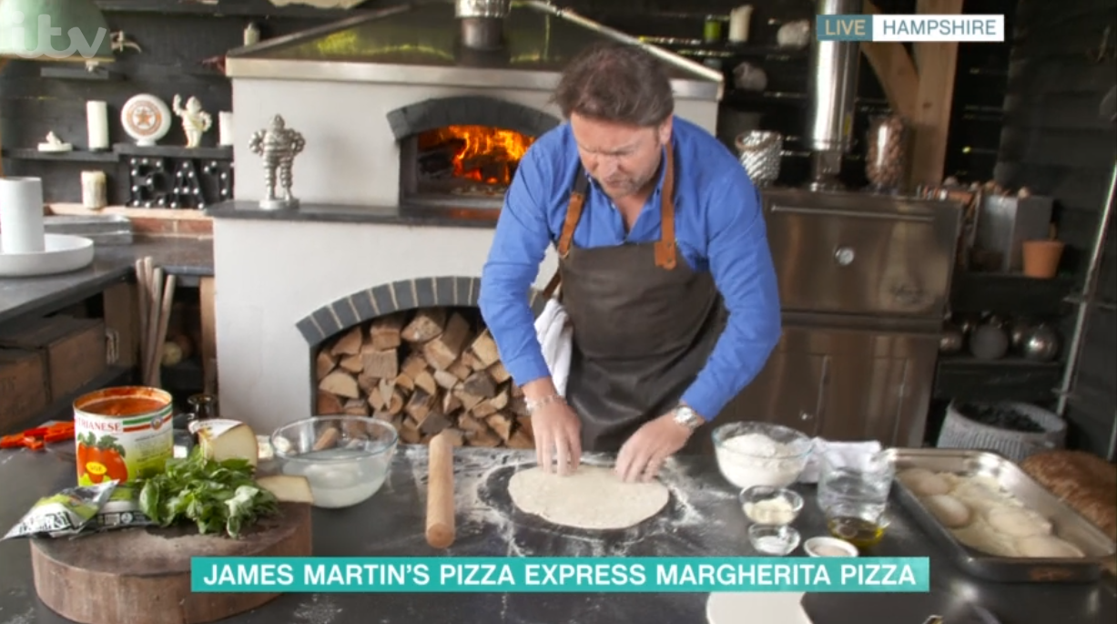 James Martin slammed for complicated pizza recipe ...