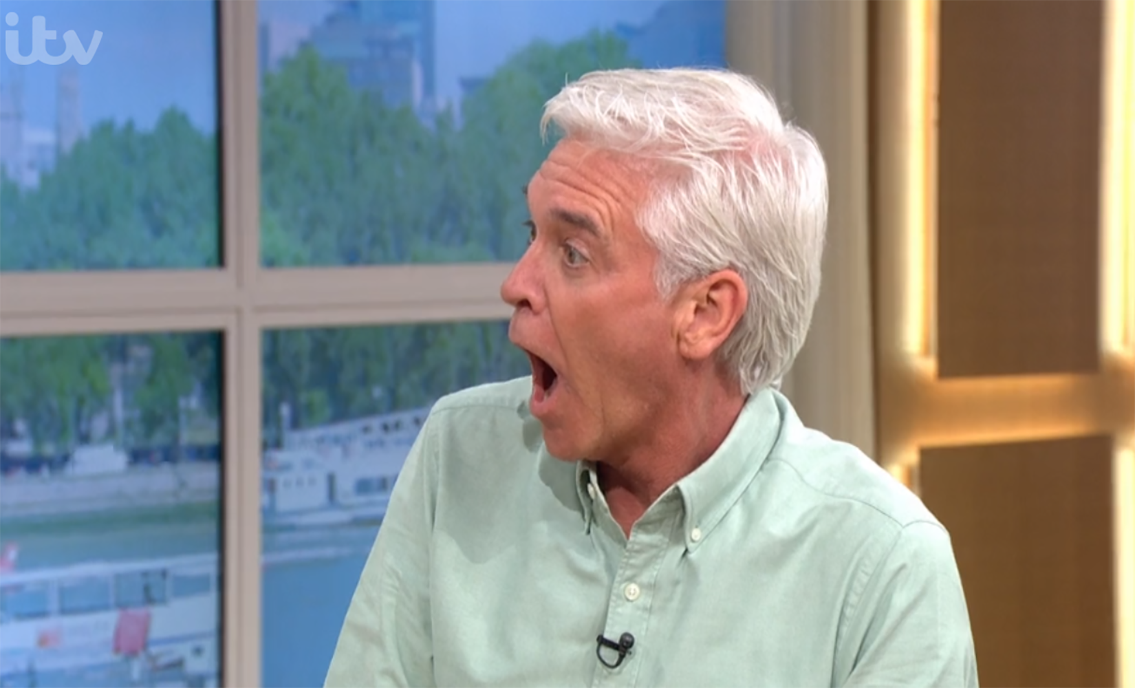 Phillip Schofield red-faced as This Morning viewers convinced he 'farted' during yoga routine