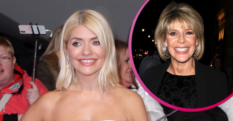 Holly Willoughby Ruth Langsford
