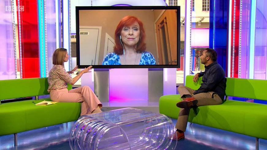 Dr Sarah Jarvis on The One Show