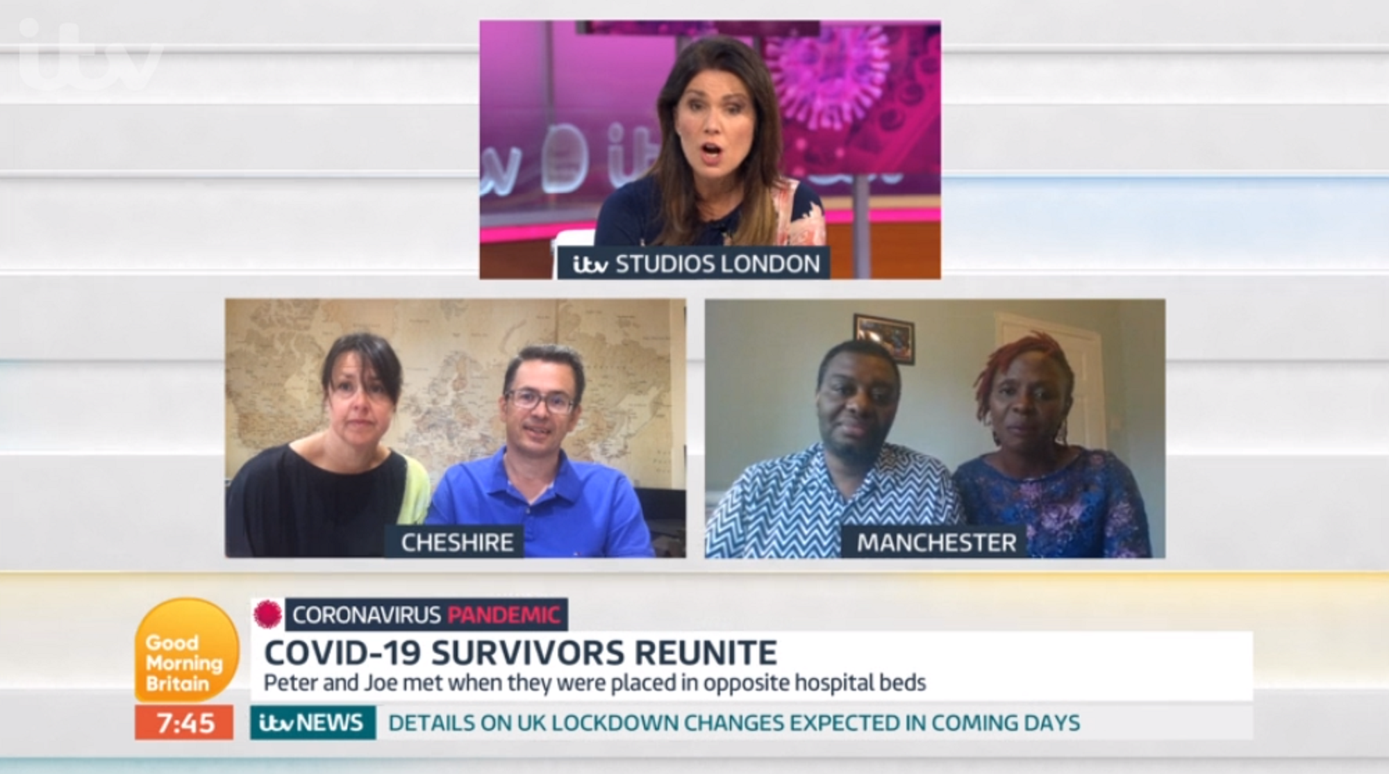 Good Morning Britain: Susanna Reid apologises after making guest cry