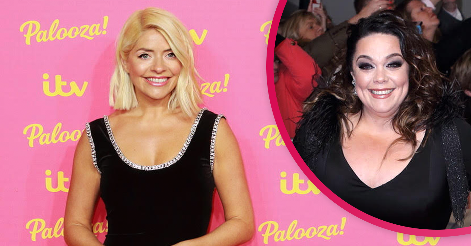 Lisa Riley reveals Holly Willoughby has been stealing style tips off Emmerdale's Mandy Dingle!