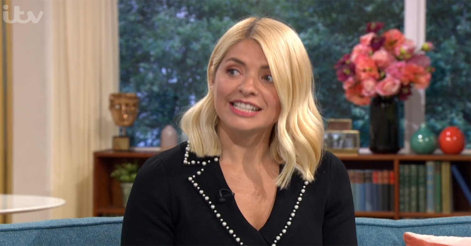 Holly Willoughby tells Lisa Snowdon to get rid of her partner live on This Morning