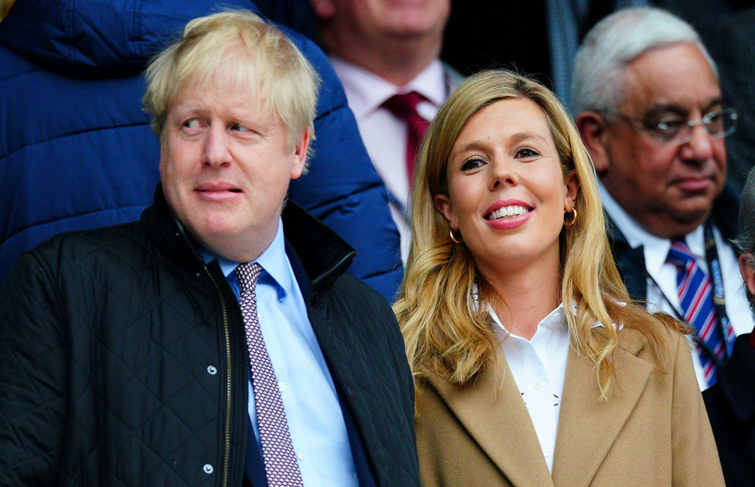 Boris Johnson and Carrie Symonds reveal baby name with first picture