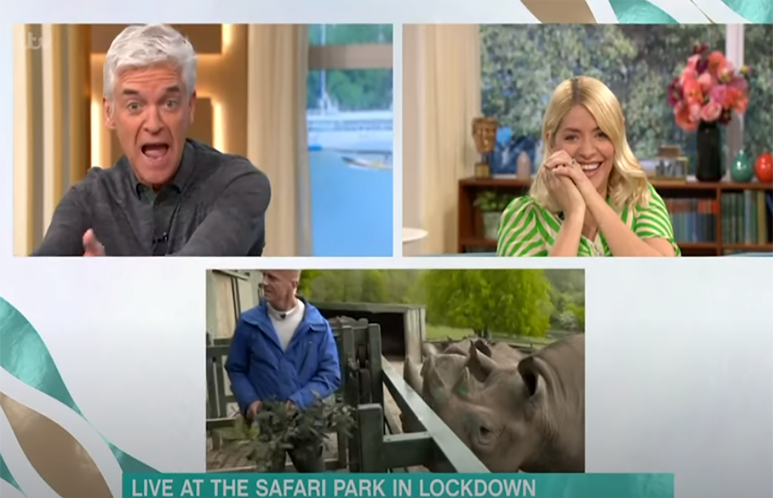 Phillip Schofield branded 'rude' as he shouts over This Morning guest