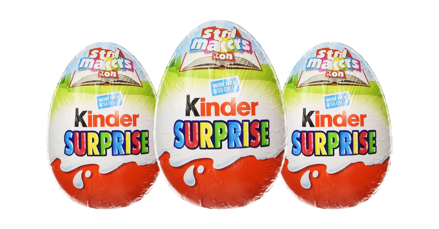 Chocolate fans' minds blown as mystery behind Kinder Surprise toys is revealed