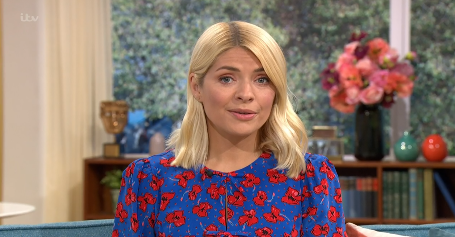 Josie Gibson gets Holly Willoughby's name wrong on This Morning