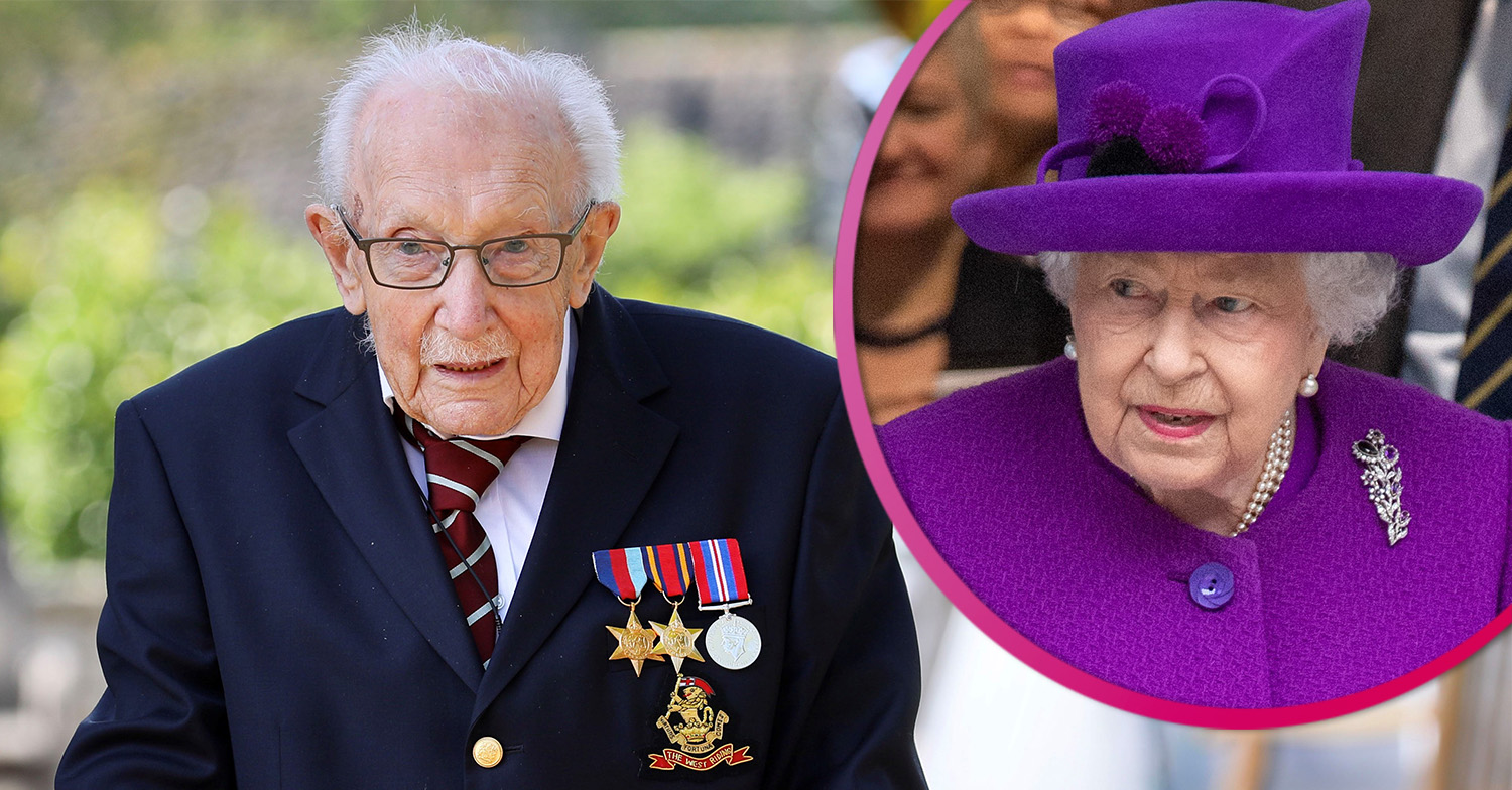 Captain Tom Moore reveals 'special' birthday card from the Queen as he turns 100