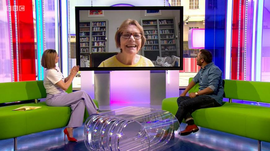 Joan Bakewell on The One Show