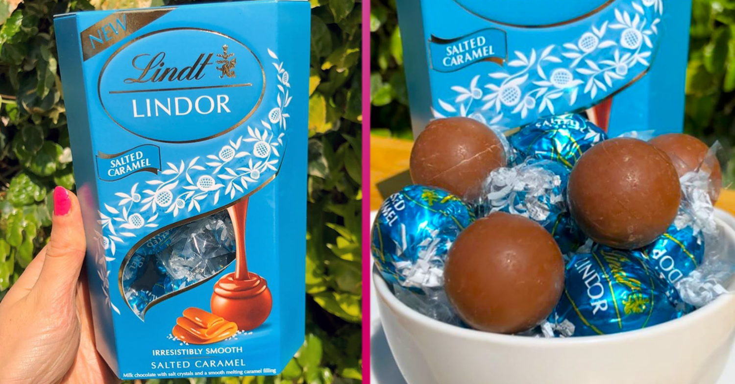 Chocoholics cry 'tears of joy' as Lindt launches new Lindor Salted Caramel truffles