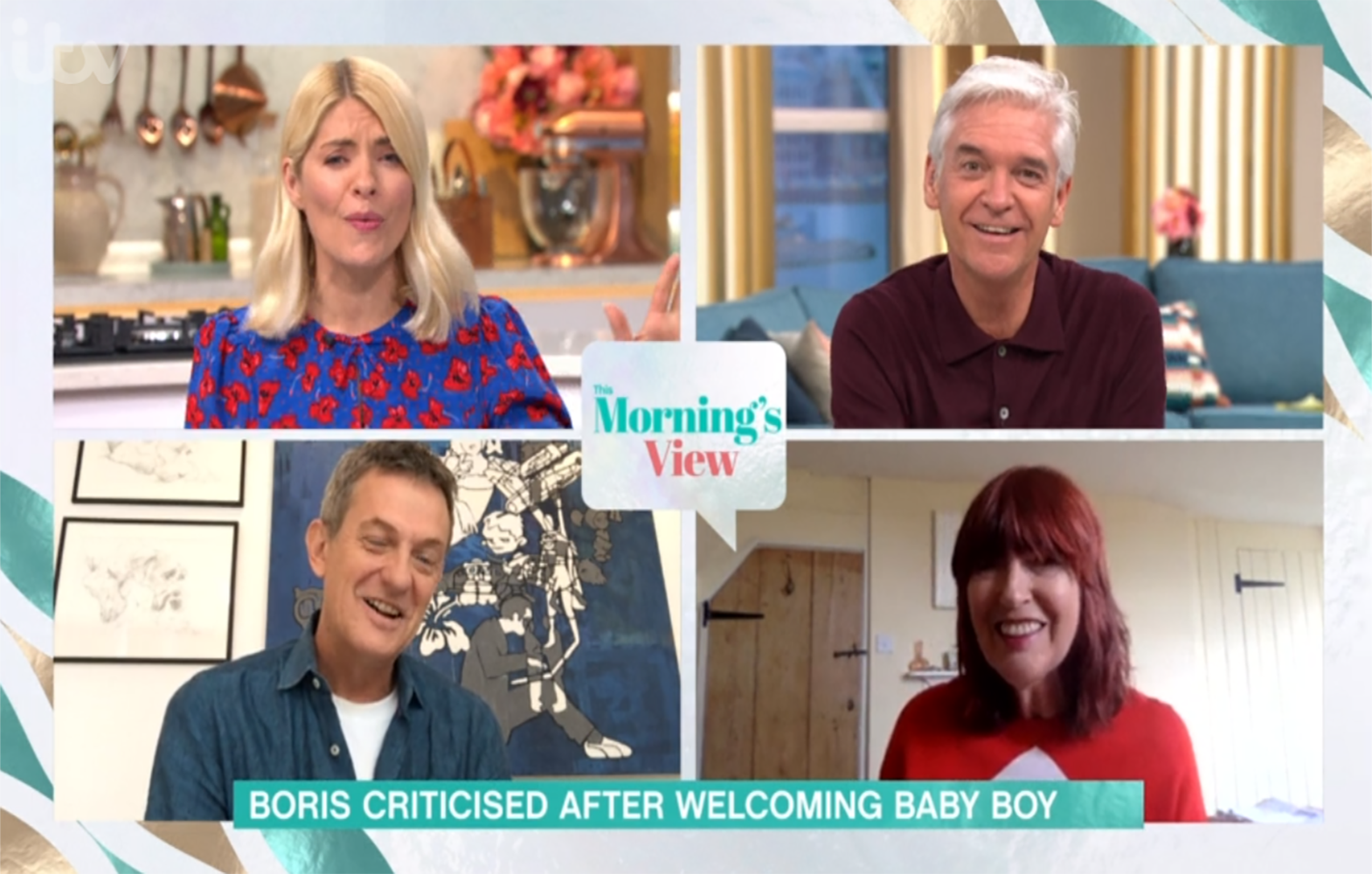 Holly Willoughby clashes with Janet Street Porter over Boris Johnson baby comments
