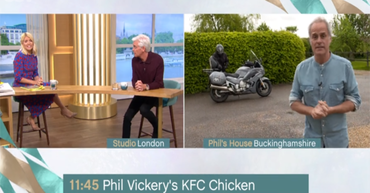 Phil Vickery on This Morning