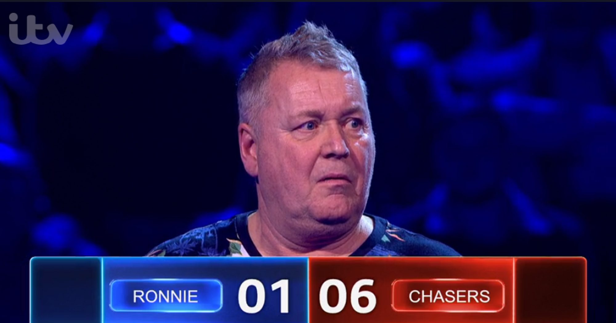 ITV reminds viewers of the rules of Beat The Chasers as they accuse show of shafting contestant Ronnie