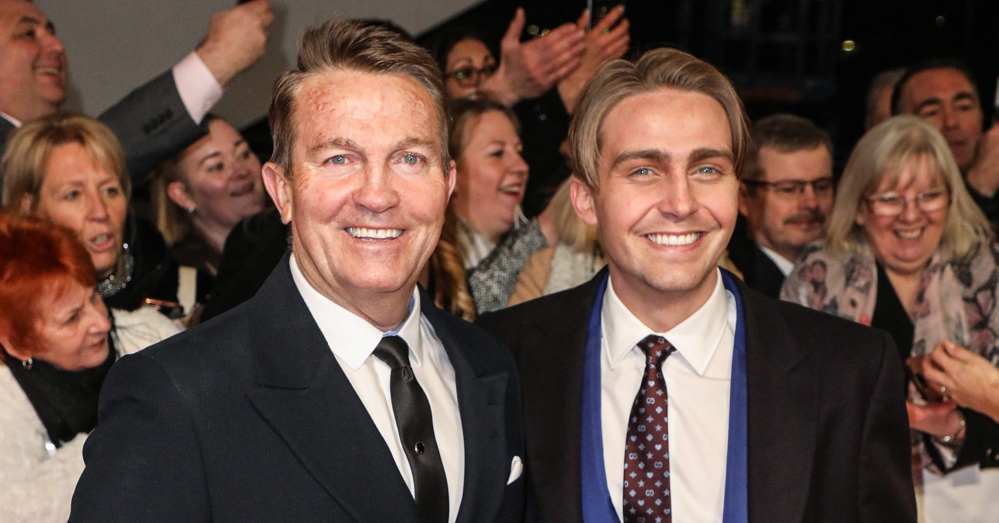 Bradley Walsh and son Barney 'filming new show at home during lockdown'