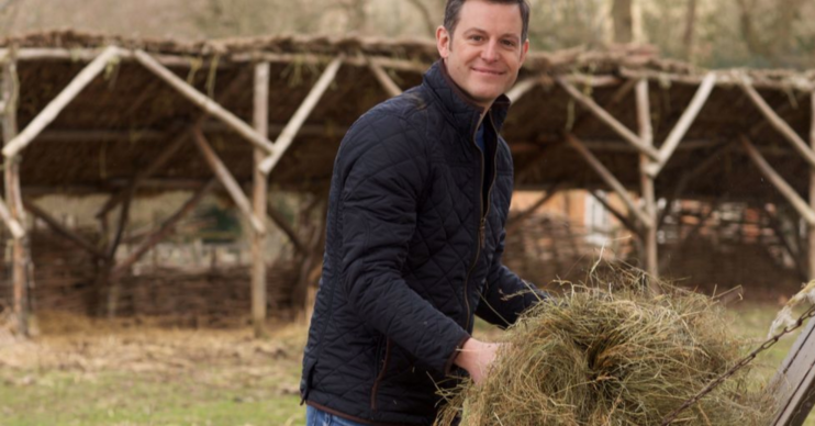 Matt Baker at work for Our Farm In The Dales