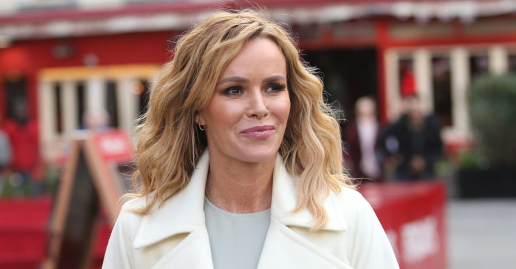 Amanda Holden has recorded a new charity single for the NHS