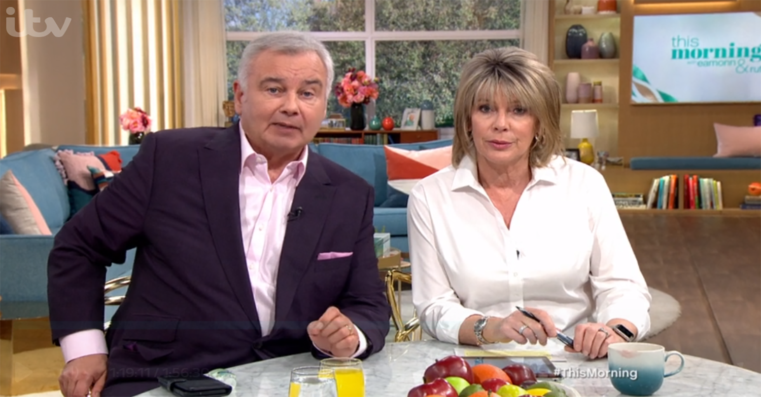This Morning viewers accuse show of 'rushing' phone-in on domestic violence