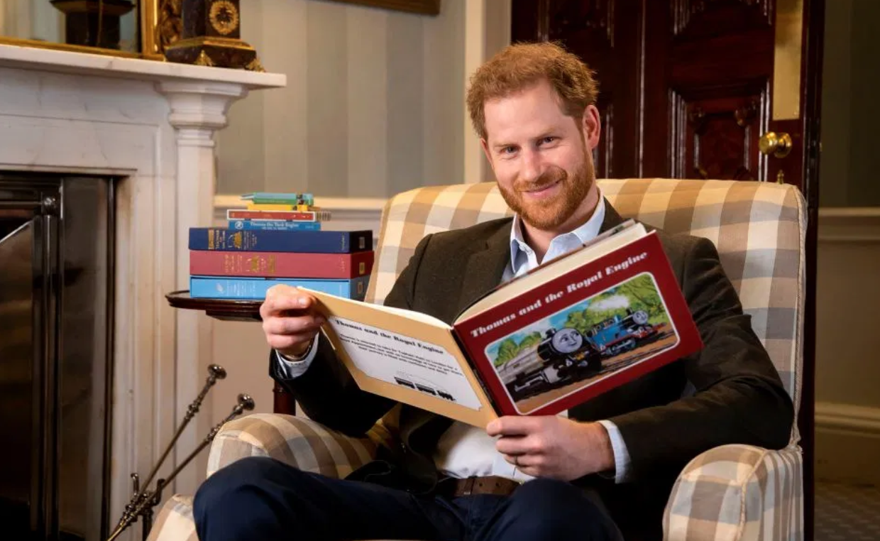 Prince Harry Thomas The Tank Engine