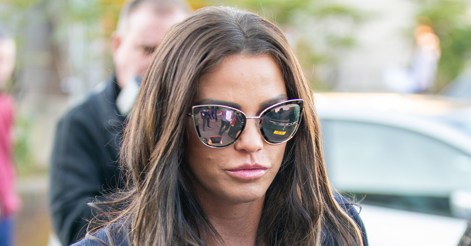 Katie Price admits she's been slowly going off the rails for the last 10 years