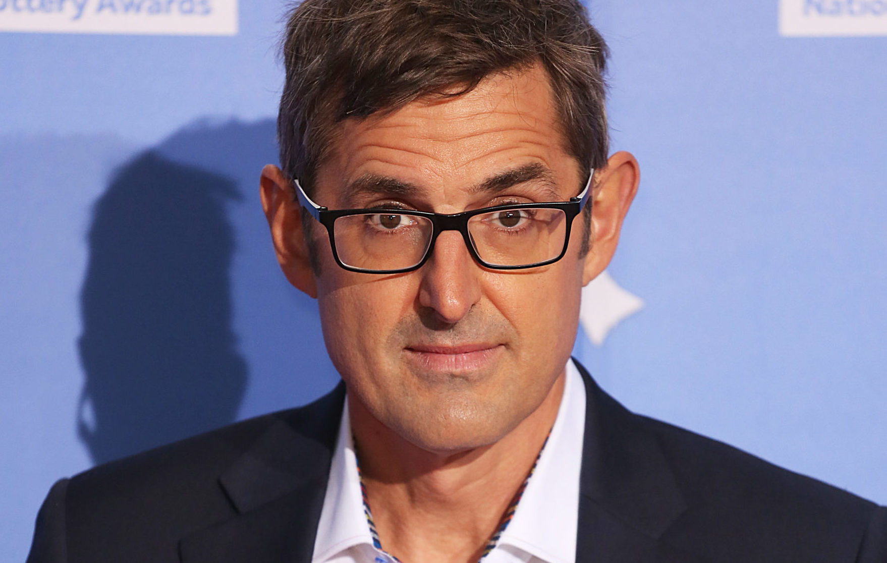 Louis Theroux chops off tip of finger while making savoury pancakes