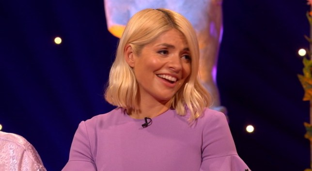 Holly Willoughby on Celebrity Juice
