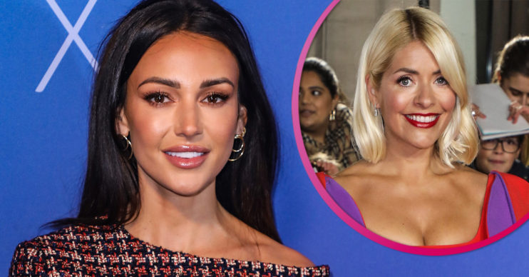 Michelle Keegan and Holly Willoughby