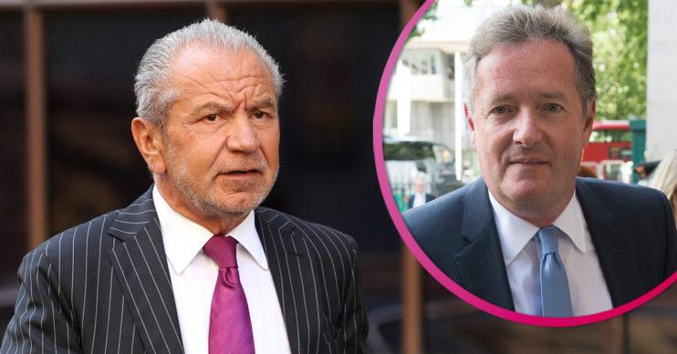 Lord Sugar and Piers Morgan