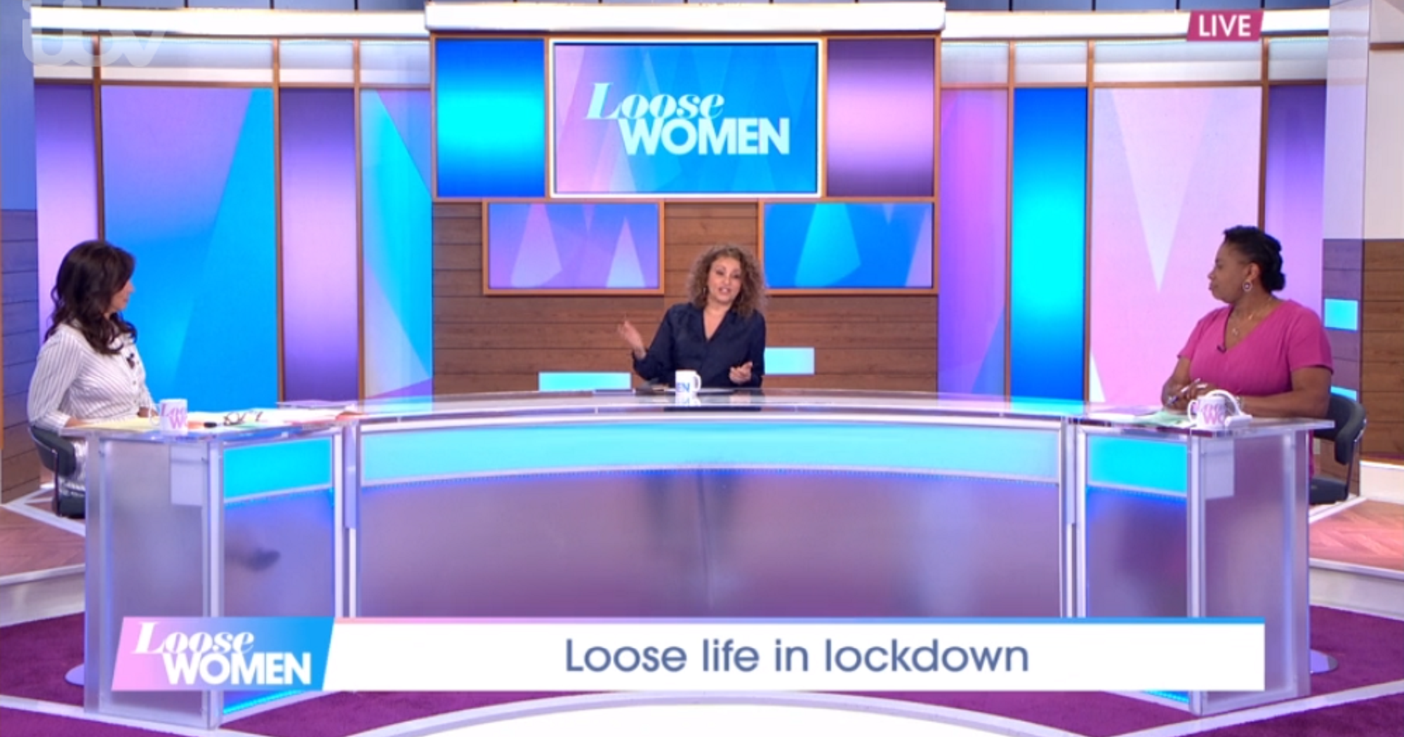 Loose Women viewers divided as it returns to live studio format