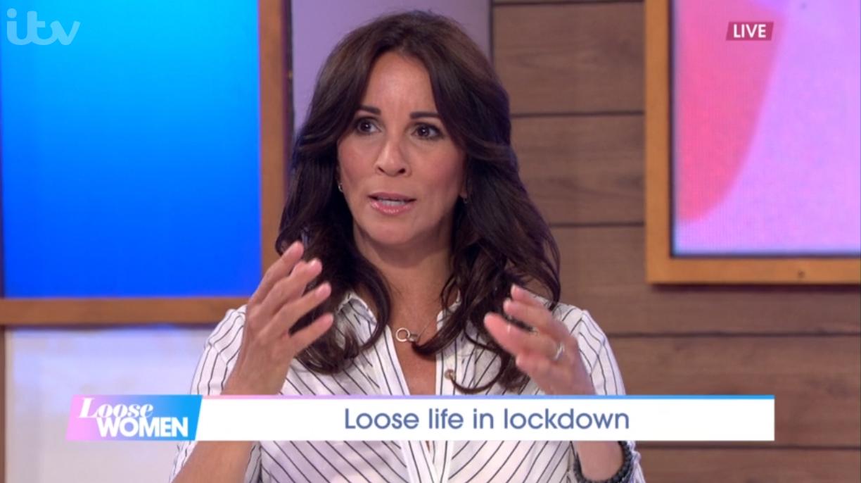 Andrea McLean reveals she suffered secret breakdown last year