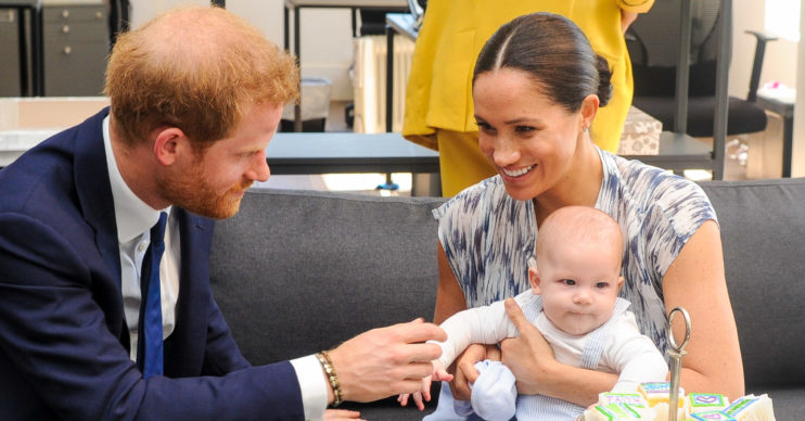 Prince Harry, Meghan Markle and baby Archie