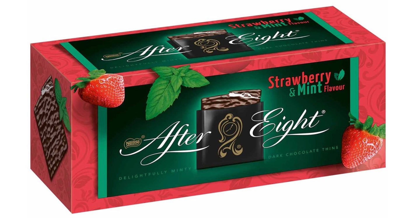 After Eights flavoured with strawberry AND mint exist and they taste of summer