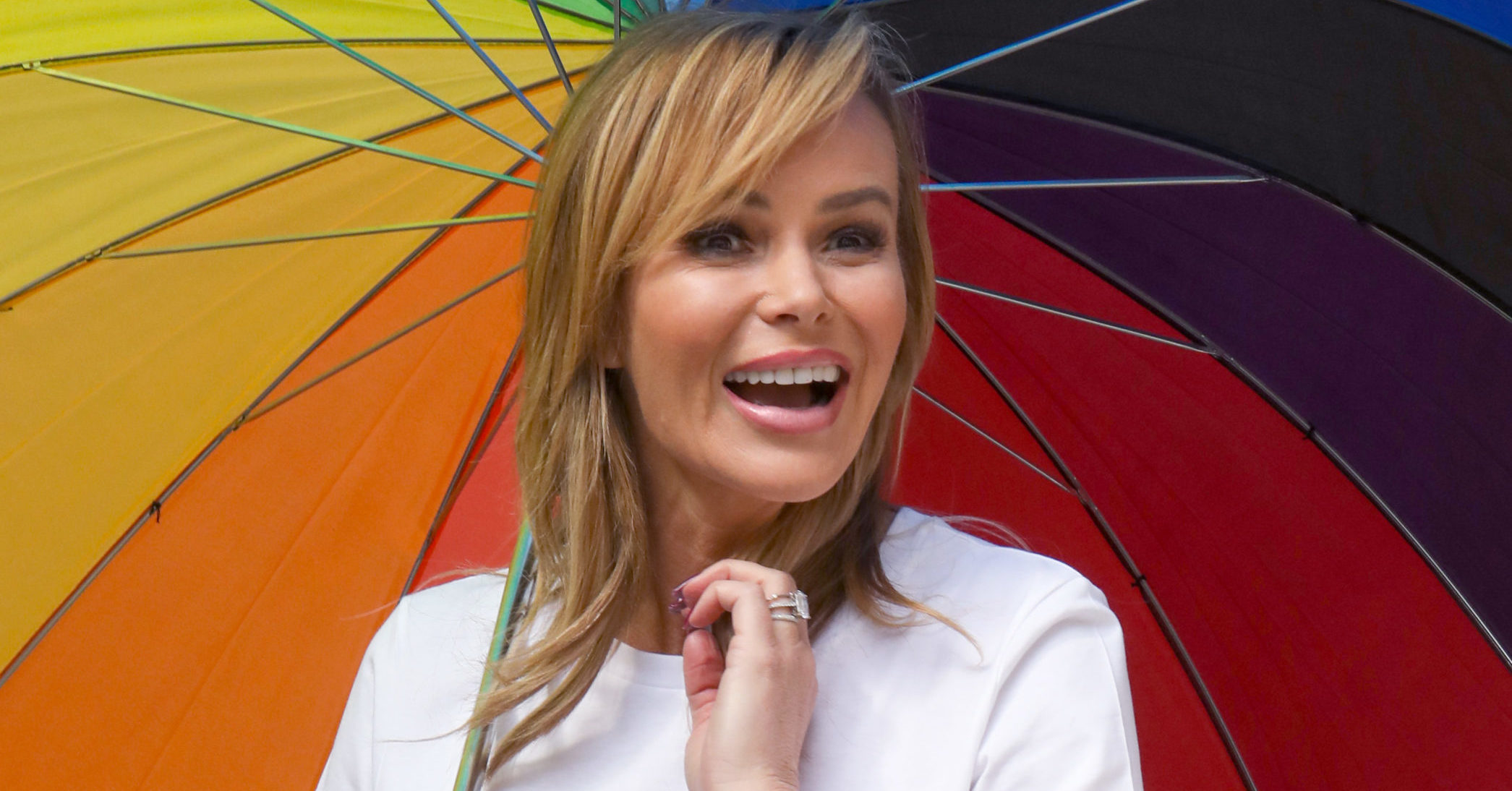 Amanda Holden fans in tears as she reveals music video for Over The Rainbow NHS charity single