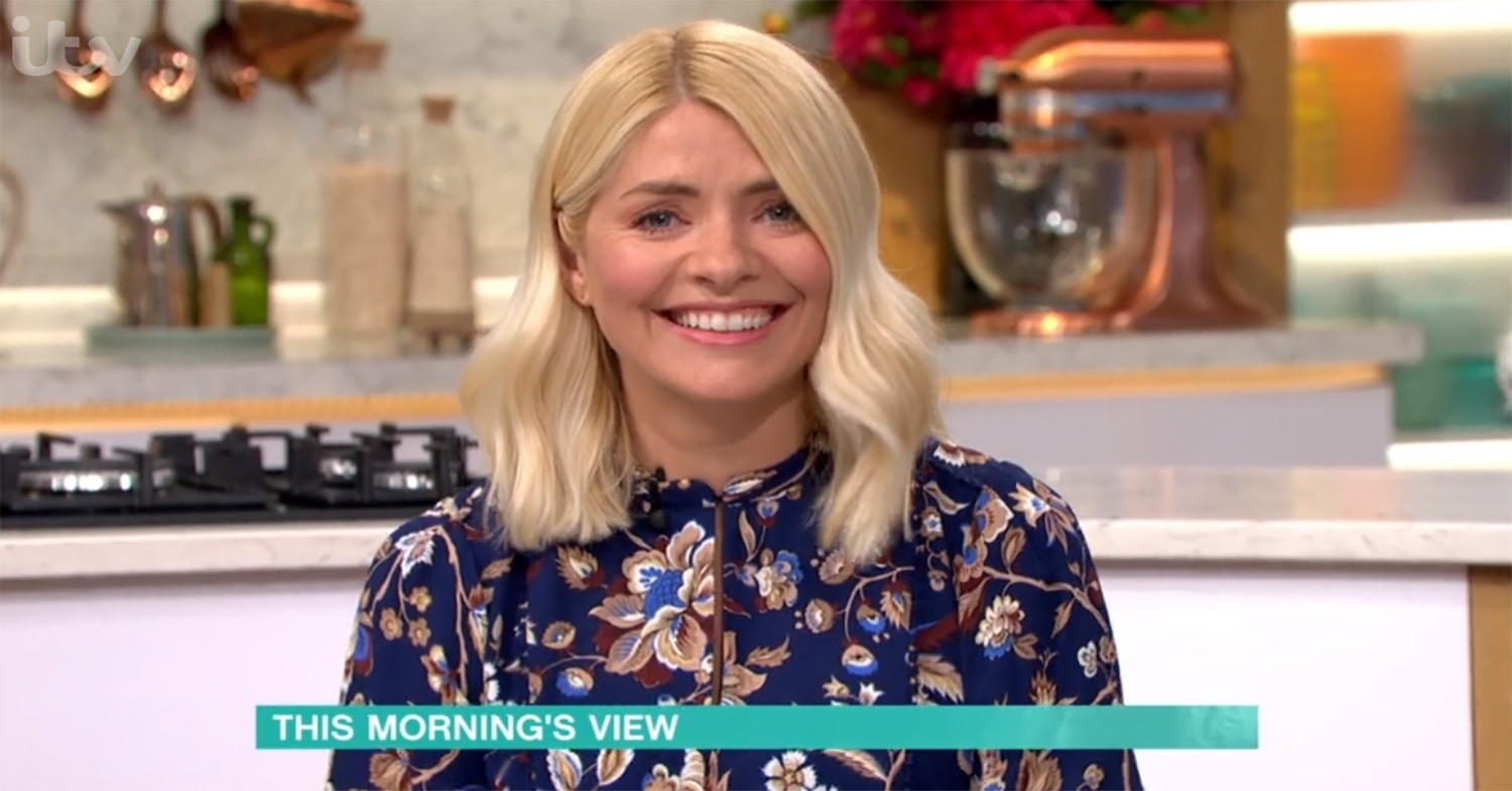 This Morning viewers brand Holly Willoughby 'rude' and 'unprofessional' for ordering lunch on air