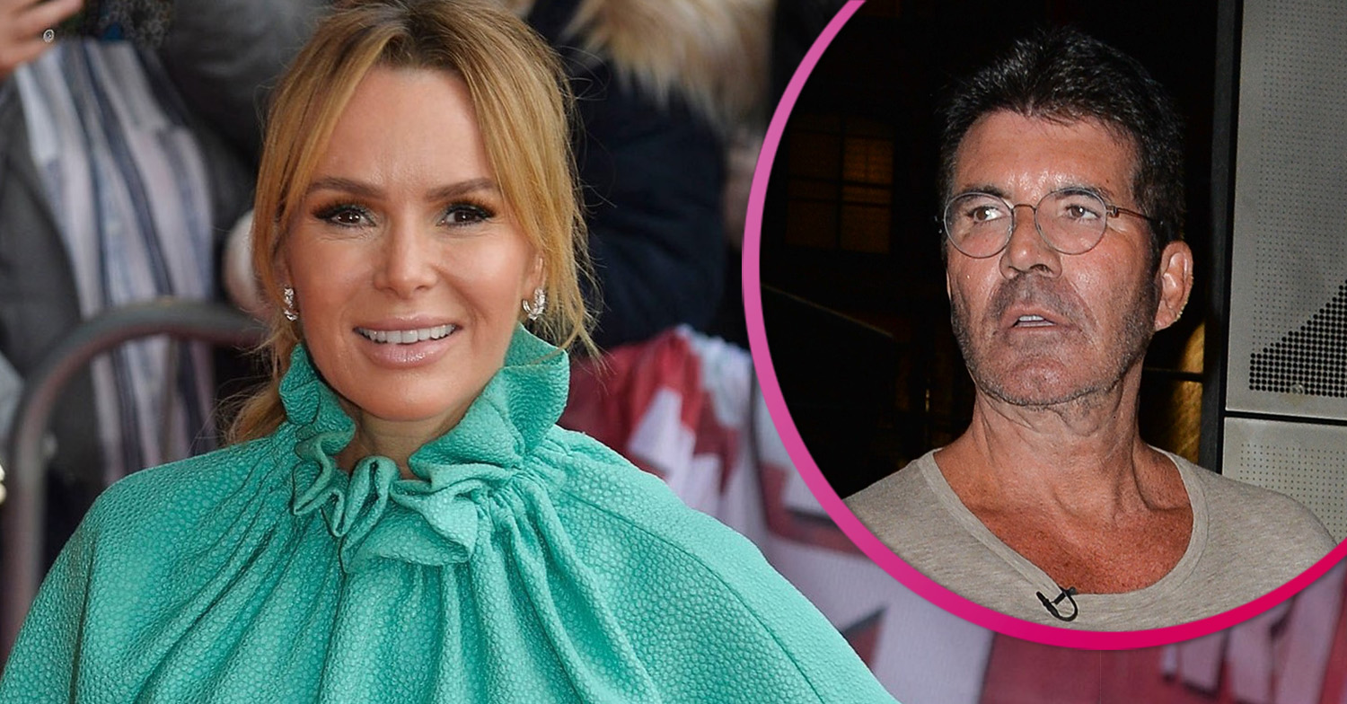 Amanda Holden's daughter sparks confusion as she claims Simon Cowell has split from girlfriend