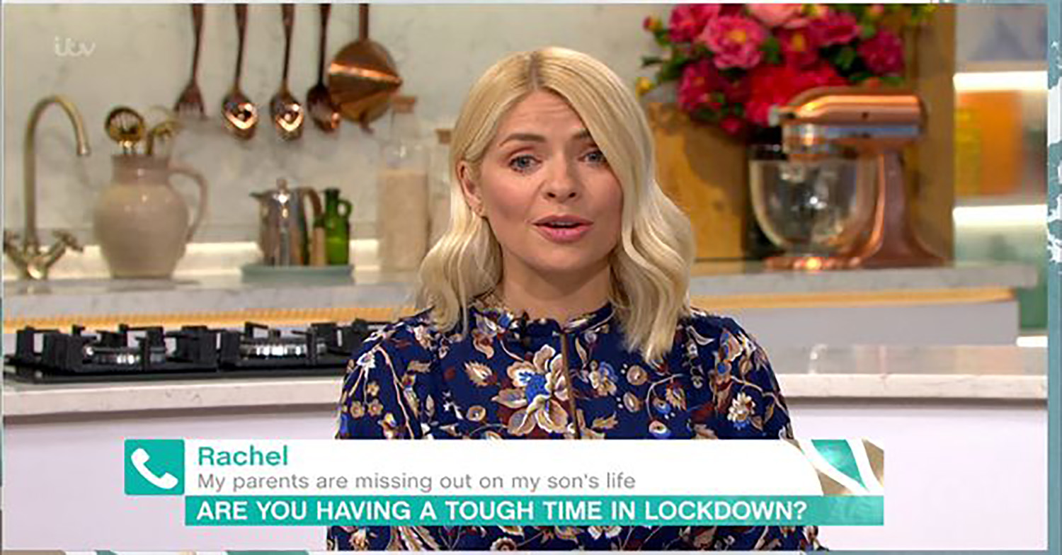 Holly Willoughby's sadness over not being able to meet new family member amid lockdown