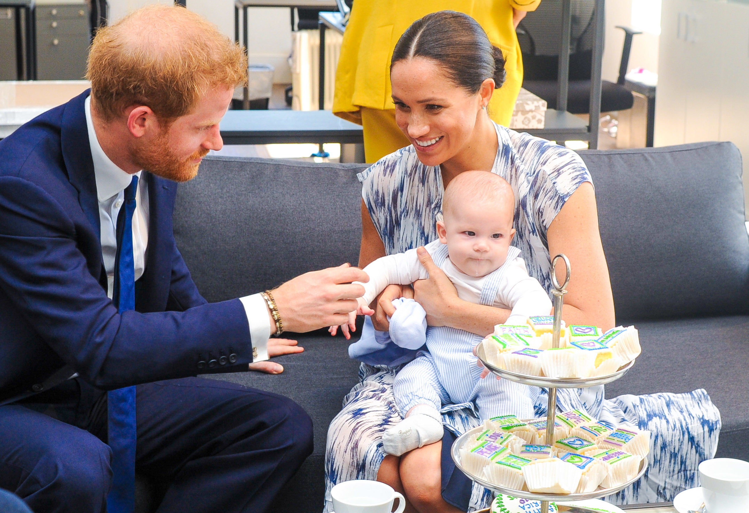 Prince Harry, Meghan and son Archie