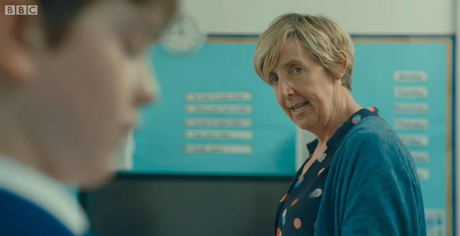 The A Word: Julie Hesmondhalgh delights fans as Joe's teacher Heather