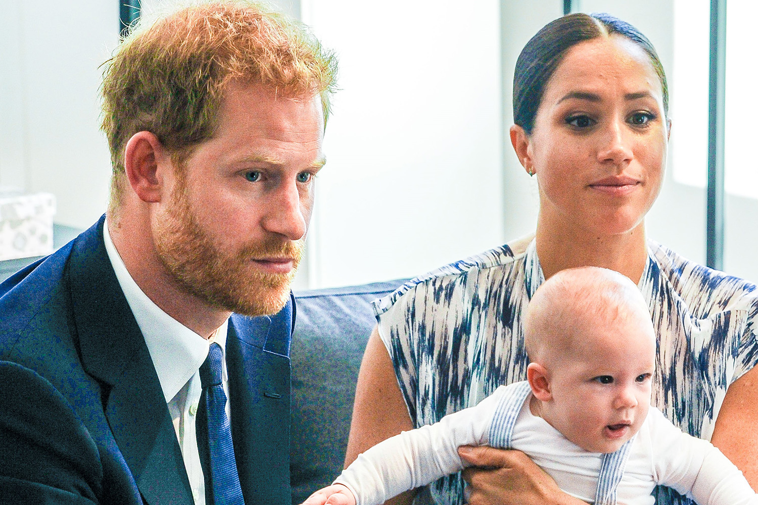Prince Harry is spitting image of Archie in childhood photos