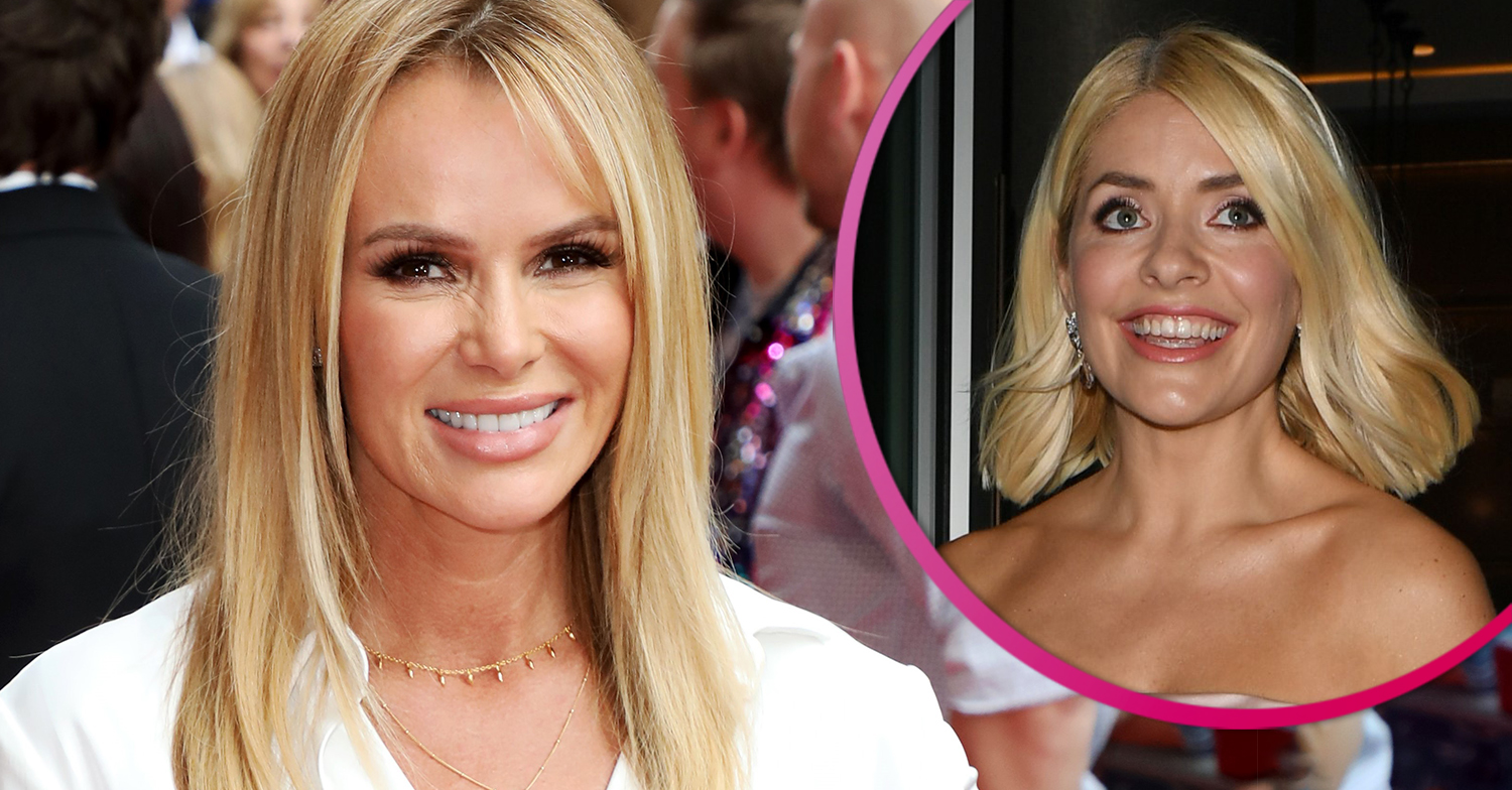 Amanda Holden to replace Holly Willoughby on Celebrity Juice?