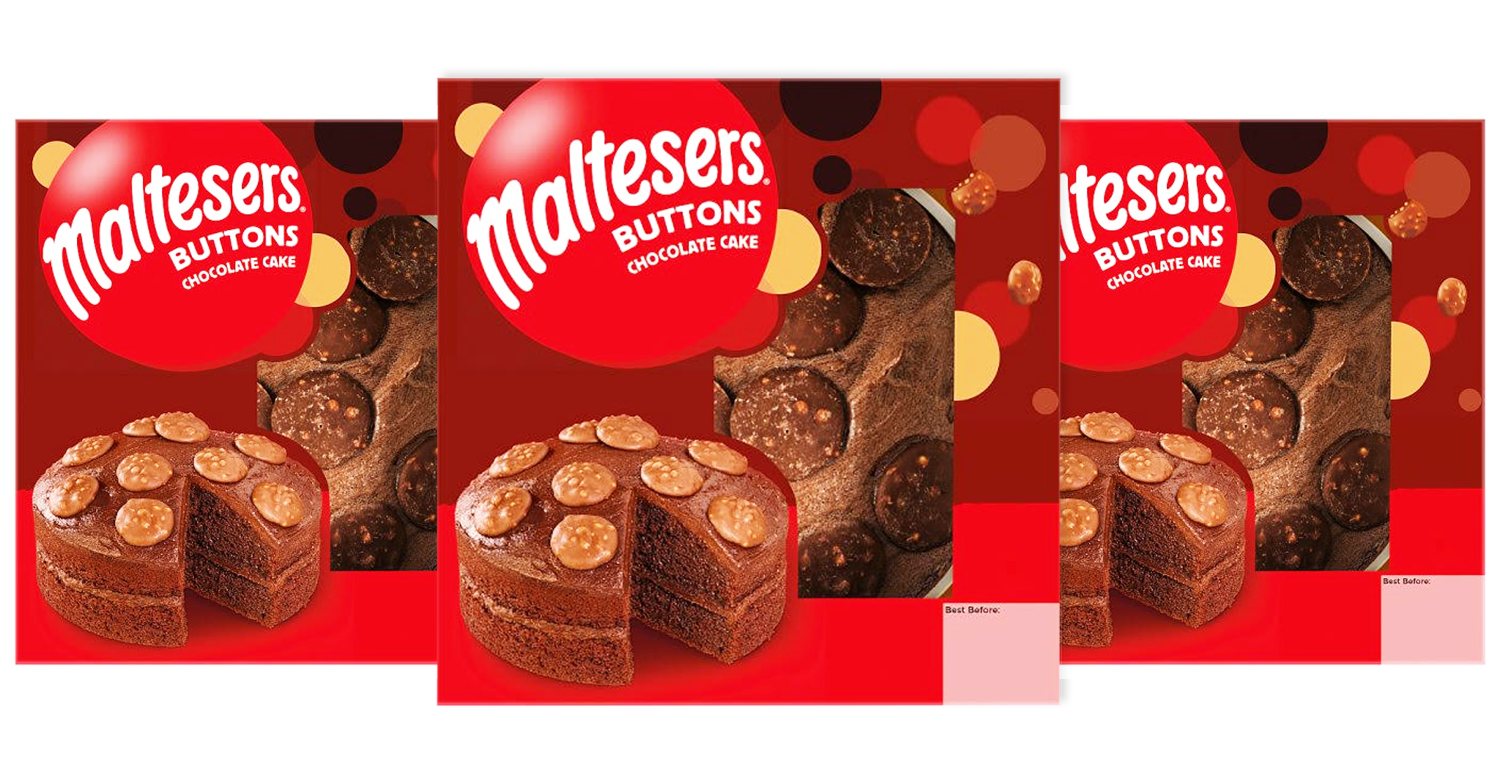 Chocoholics say their 'lives are complete' as new Maltesers Buttons triple chocolate cake goes on sale