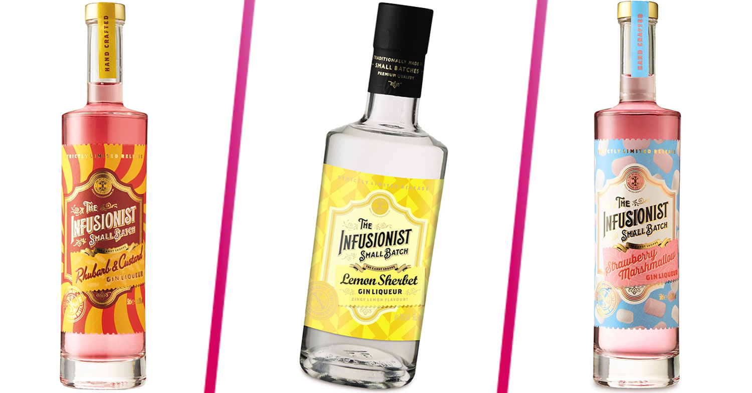 Aldi launches its new Spirit Festival and introduces three new retro sweet-inspired gins