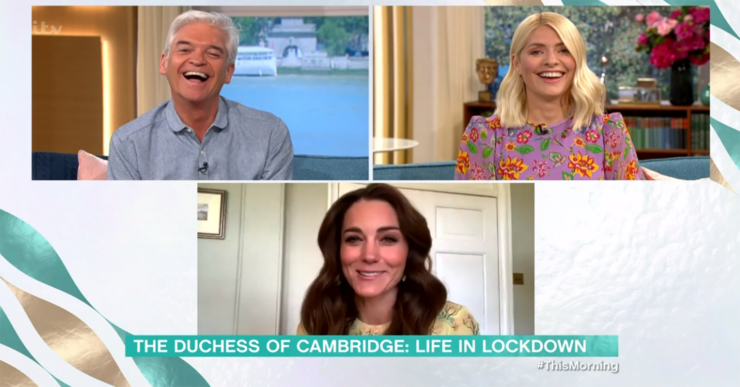 This Morning viewers gush over 'down to earth' Kate as she makes appearance