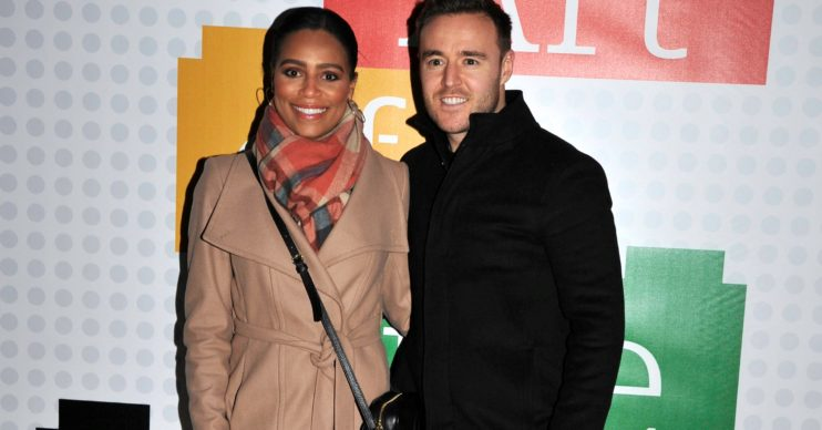 Tisha Merry Alan Halsall Splash News