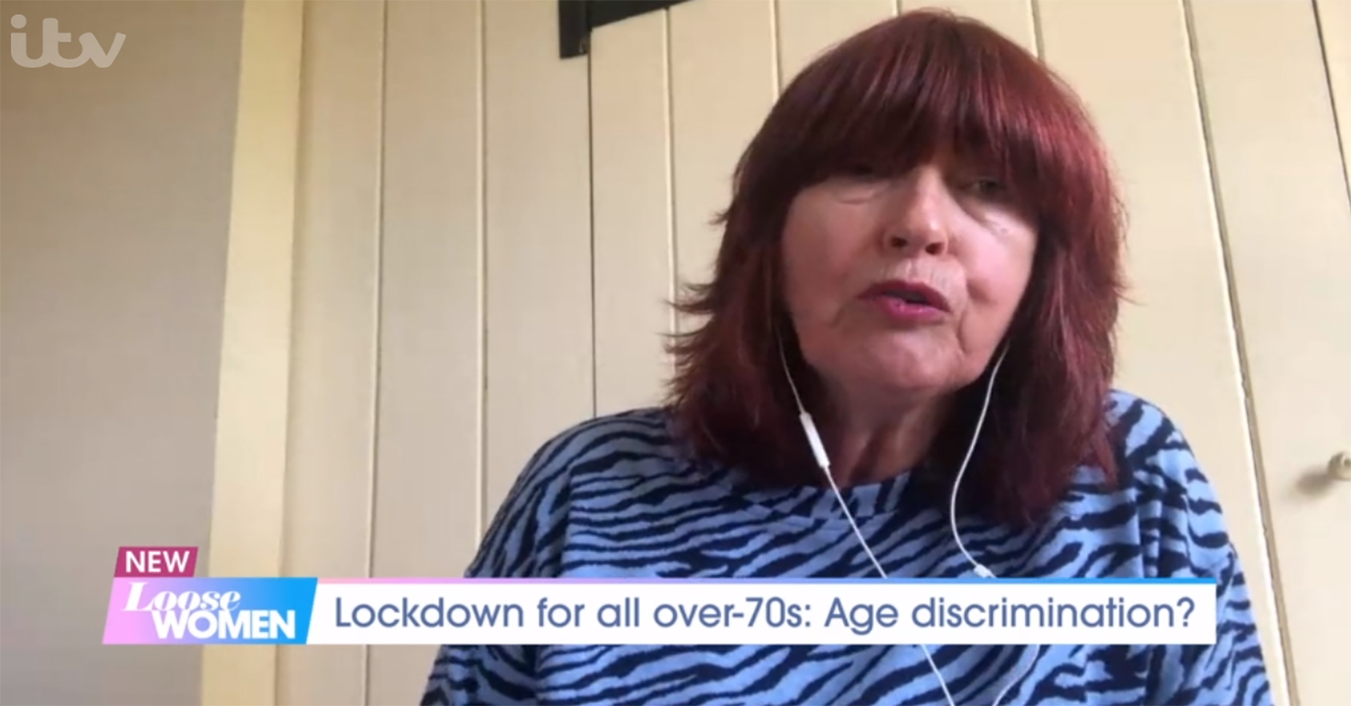 Loose Women viewers slam Janet Street Porter for 'dangerous' comments about lockdown