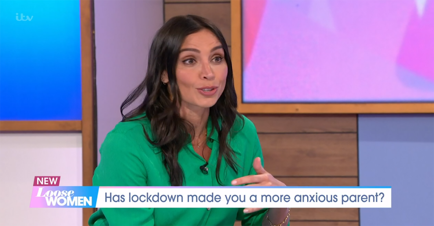 Christine Lampard reveals 'worrying' moment daughter was taken to hospital with 'high temperature'